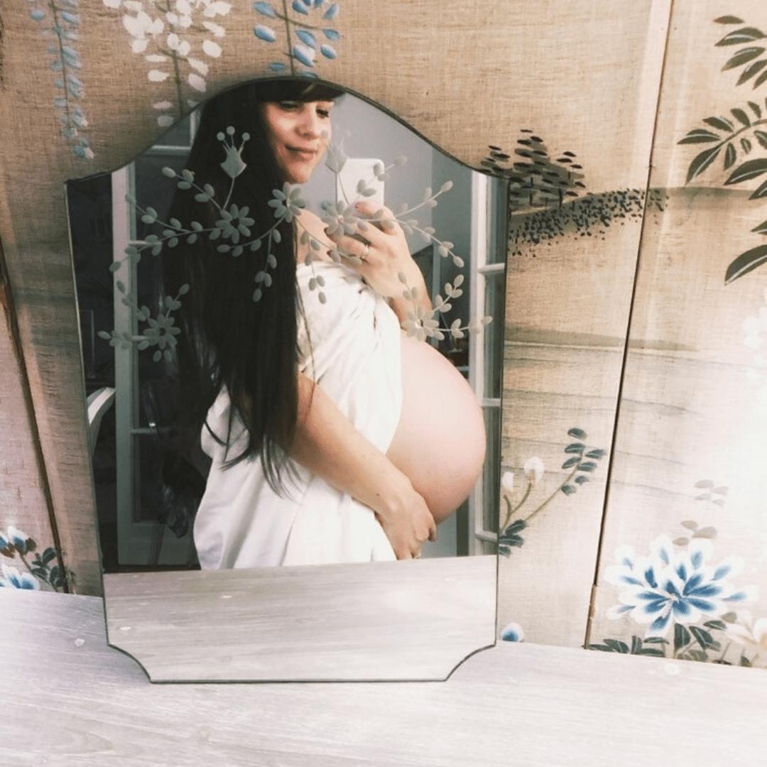 Cherry Blossom Girl, Alix, Grossesse, Accouchement