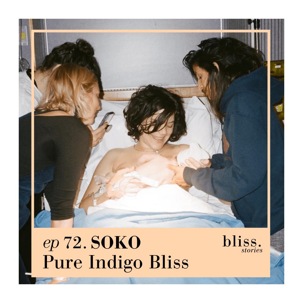Chanteuse Soko, Fils, Indigo Blue